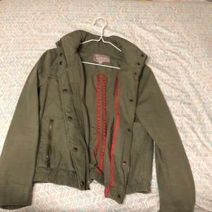 Banana Republic army green jacket